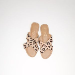 Coconuts by Matisse Leopard Print Slides